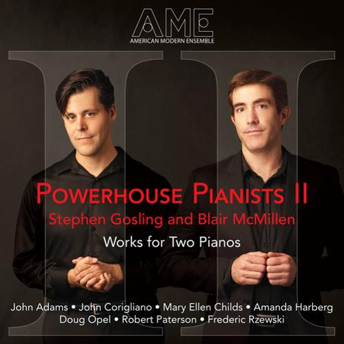 American Modern Ensemble - Powerhouse Pianists II